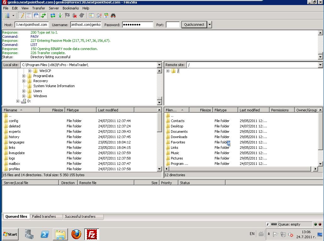 Forex server