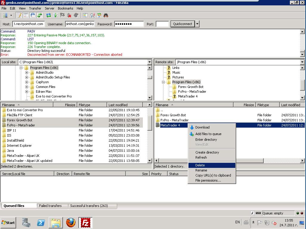 Forex broker inc mt4 client terminal